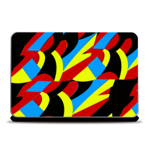 Abstract Colors Laptop Skins | Artist : Nisha Prabhu
