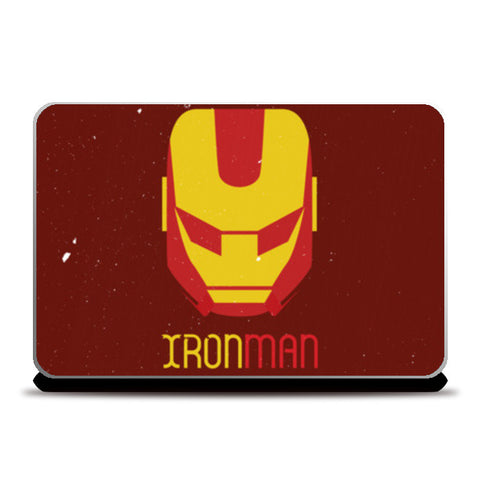 Ironman mask Laptop Skins | Artist : Designerchennai