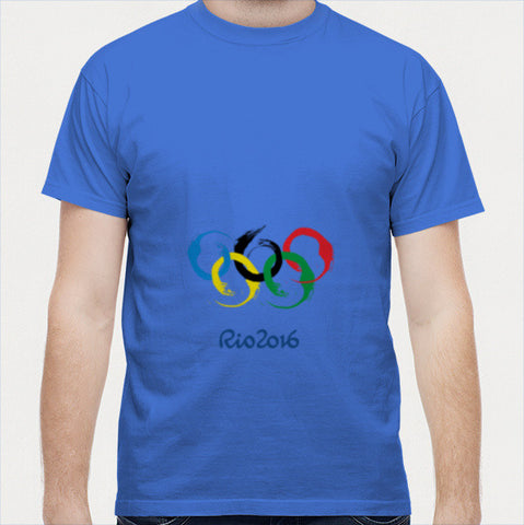 Rio Olympics 2016, Mens T-shirt Men T Shirts | Artist : Nihal Dad Khan