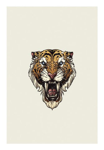 Saber Toothed Tiger Wall Art PosterGully Specials