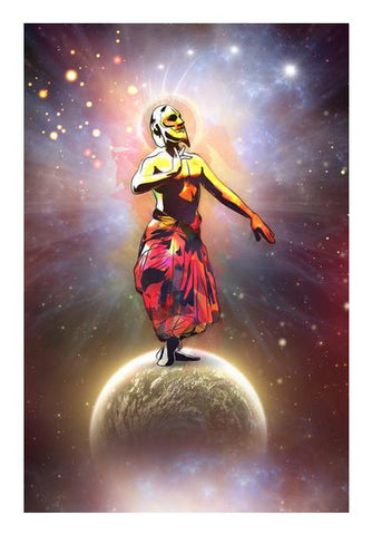 PosterGully Specials, Dance Above The Surface Of The World Wall Art | Artist : Archana Aravind, - PosterGully