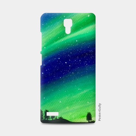 The Northern Lights Redmi Note Cases | Artist : Akshita Shah