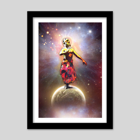 Dance Above The Surface Of The World Premium Italian Wooden Frames | Artist : Archana Aravind