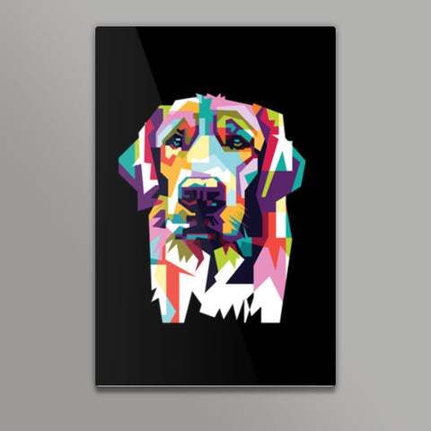 Dog Lovers Metal Prints | Artist : Inderpreet Singh