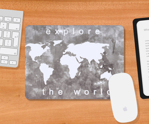 Explore the world Mousepad | Artist : Naeema Rezmin