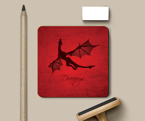 Coasters, Dracarys Game of Thrones | Artist: Kshitija Tagde, - PosterGully