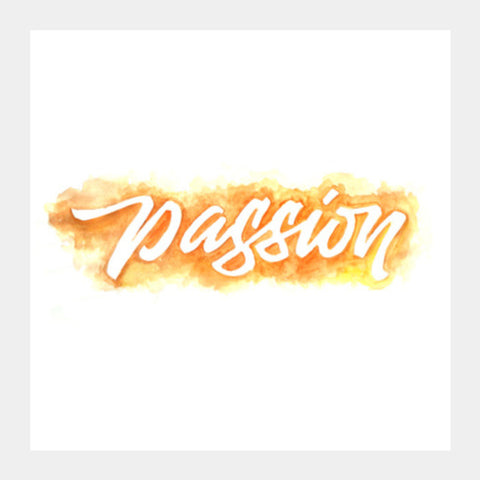 Do it with passion Square Art Prints | Artist : Niraj Pangarkar
