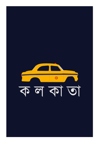 Calcutta Cab Art PosterGully Specials