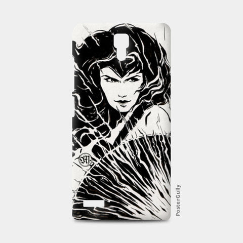 Wonder woman Fan art Redmi Note Cases | Artist : Monisha Miriam