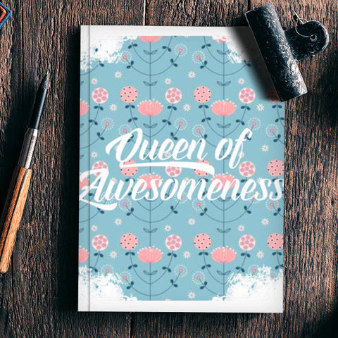Queen Of Awesomeness Notebook | Artist : Asees Kaur