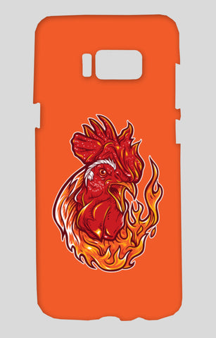 Rooster on fire Samsung Galaxy S8 Cases | Artist : Inderpreet Singh