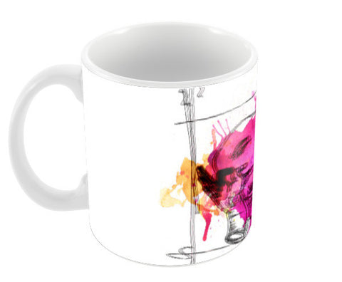 Blur Bliss Mugs Coffee Mugs | Artist : Sahil Siddiqui