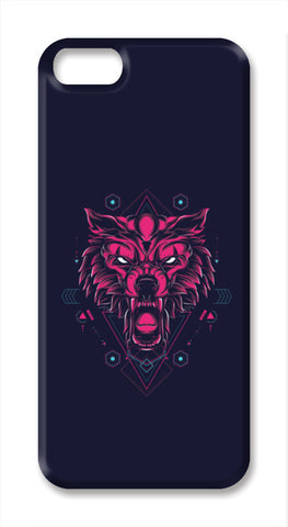 The Wolf iPhone SE Cases | Artist : Inderpreet Singh