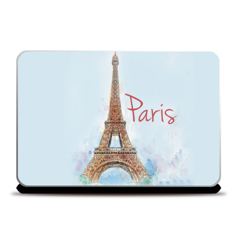Laptop Skins, Love From Paris Laptop Skins | Artist : Pranit Jaiswal, - PosterGully