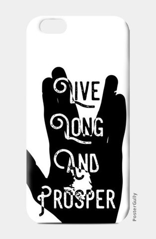 Live Long And Prosper iPhone 6/6S Cases | Artist : Anshul Patria
