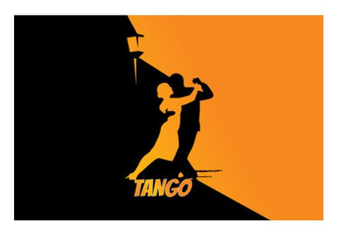 PosterGully Specials, Tango Couple Love Wall Art | Artist : Pranit Jaiswal | PosterGully Specials, - PosterGully
