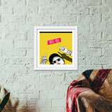 anti you Premium Square Italian Wooden Frames | Artist : DISHA BHANOT