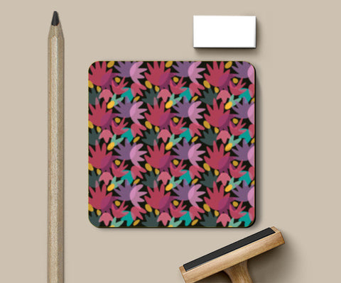 PosterGully Coasters, PRETTY PINK Coasters | Artist : looshmoosh, - PosterGully