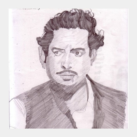 Guru Dutt Was Dedicated To Cinema Square Art Prints PosterGully Specials