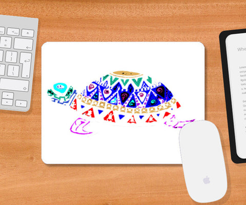 Mouse Pad Turtle 3 Mousepad | Artist : Navdeep Sharma