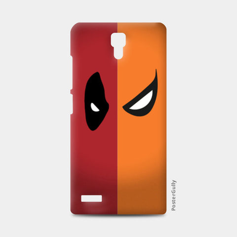 Redmi Note Cases, DeadPool vs DeathStroke Redmi Note Cases | Artist : Angad Singh, - PosterGully