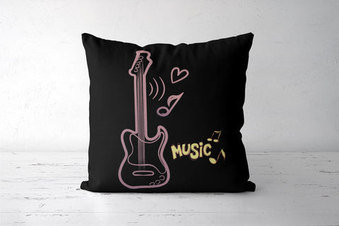 MusicCover Cushion Cover | Anushree