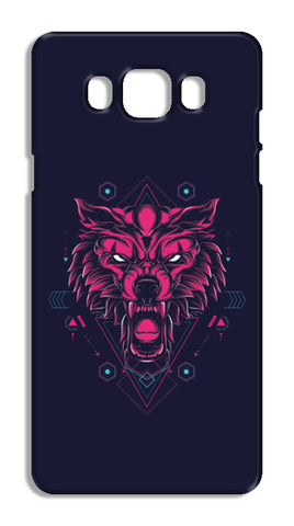 The Wolf Samsung Galaxy J7 2016 Cases | Artist : Inderpreet Singh