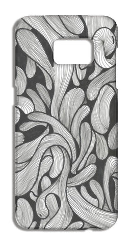 Abstract doodle Samsung Galaxy S7 Edge Cases | Artist : Raj Patel
