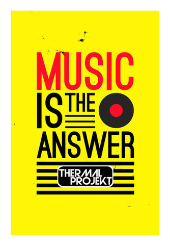 Wall Art, Music Is The Answer Vol 2 Wall Art | Artist : Thermal Projekt, - PosterGully