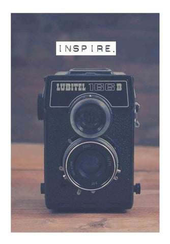 PosterGully Specials, Vintage Camera Inspire Wall Art | Artist : GABAMBO, - PosterGully
