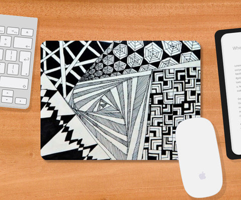 Mousepad, New Graphic Doodle Mousepad | Artist : Purvi Gadewar, - PosterGully