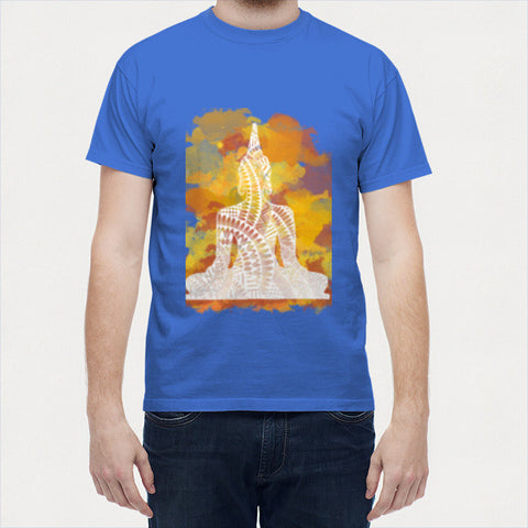 Men T Shirts, Buddha Men T Shirts | Artist : Swathi Kirthyvasan, - PosterGully - 6
