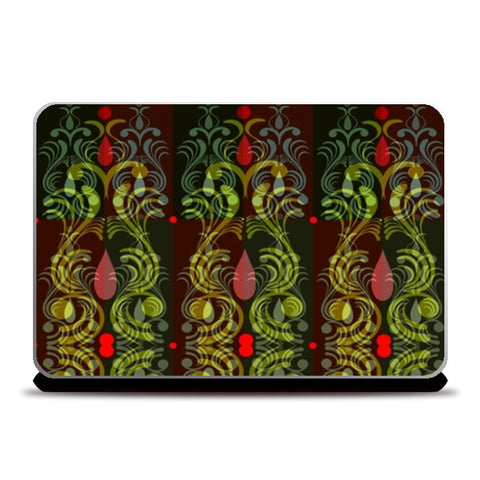 Ornamental Pattern Laptop Skins | Artist : Amar Singha