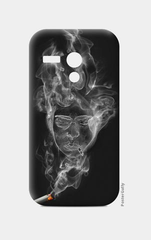 The Cigarette is Smoking You! Moto G Cases | Artist : kapil Verma