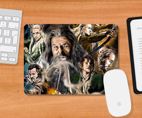 Mousepad, The Hobbit Mousepad | Artist : Draw On Demand, - PosterGully