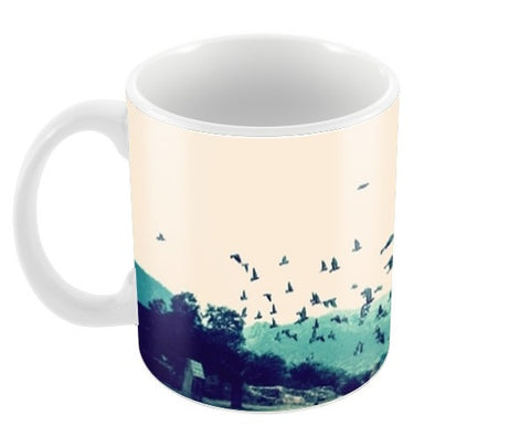 Haunted Coffee Mug, Bhangarh fort rajasthan Coffee Mugs | Artist : The Storygrapher