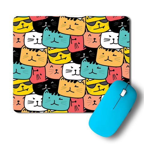 Cats Pop Art Mousepad