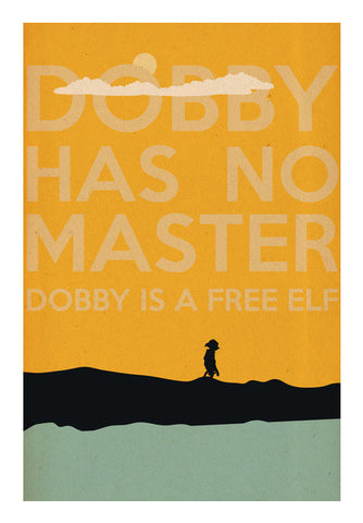 Wall Art, Dobby is a Free Elf Wall Art | Rishabh Bhargava, - PosterGully