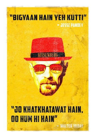 PosterGully Specials, BREAKING BAD Wall Art | Artist : Naman Kapoor, - PosterGully
