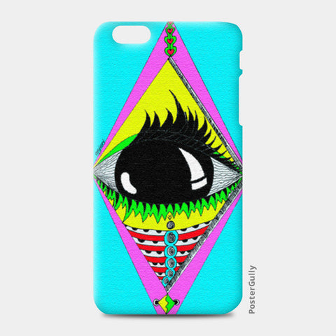 the big eye iPhone 6 Plus/6S Plus Cases | Artist : Anjuri Jain