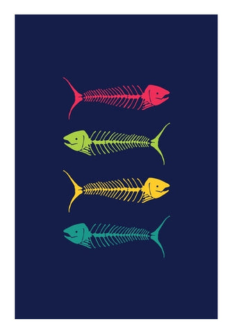 Dry Fish Art PosterGully Specials