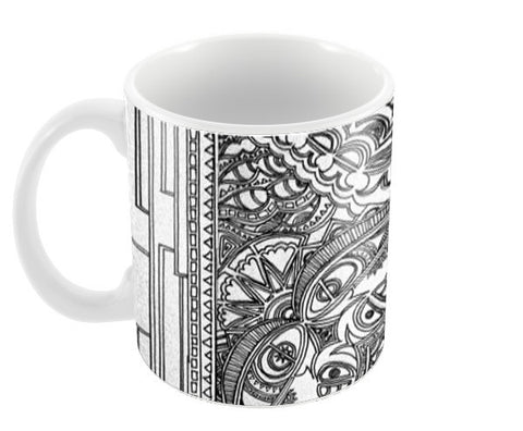 Tile intecracy Coffee Mugs | Artist : Awanika Anand