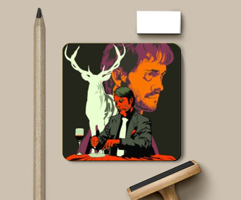 Coasters, Hannibal TV Show Coaster | Aniket Trivedi, - PosterGully