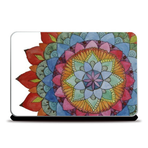 Laptop Skins, The Earth Laughs in Flowers Laptop Skins | Artist : lubaina kapoor, - PosterGully