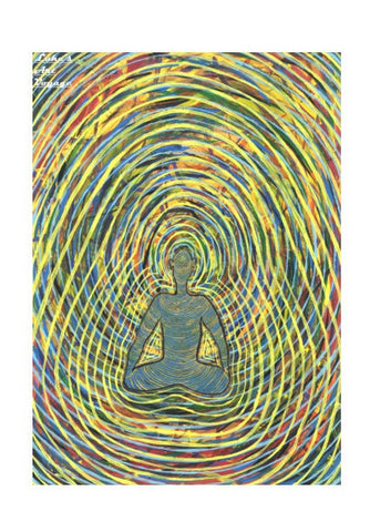 Wall Art, Satchidananda - Blissful Exprience of Pure Consciousness Wall Art | Artist : Luke's Art Voyage, - PosterGully