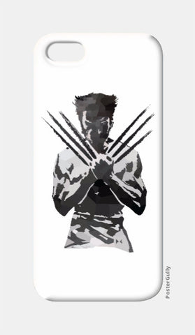 iPhone 5 Cases, Low Poly Wolverine iPhone 5 Case | Artist: Darshan Gajara, - PosterGully