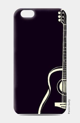Love Music | Guitar | Minimal | Black iPhone 6/6S Cases | Artist : Miraculous