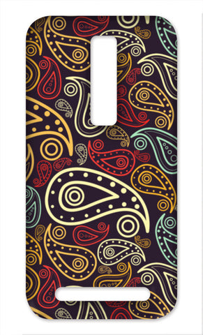 Paisley Illustration Asus Zenfone 2 Cases | Artist : Designerchennai