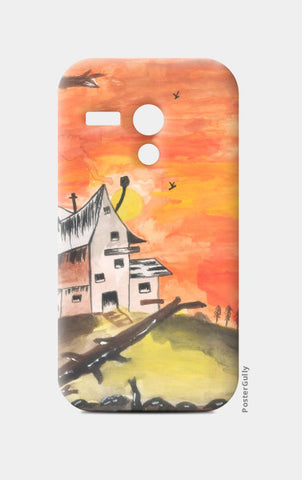 Moto G Cases, Haunted House Moto G Case | Artist: Teena Chauhan, - PosterGully