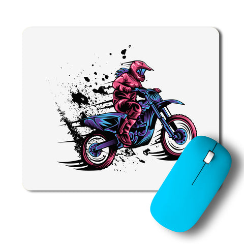 Motocross Splash Speed Mousepad